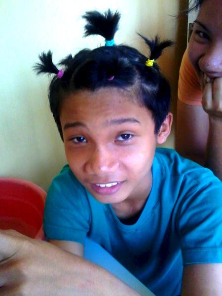 Filipino nephew Sharwen the Filipino Farina
