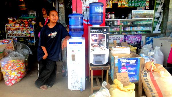 Jamie at the Jade Market in Guimaras
