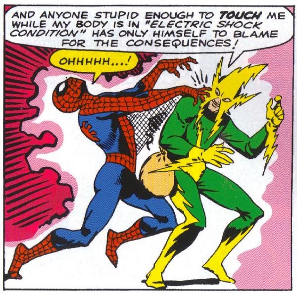 electro vs. spider-man