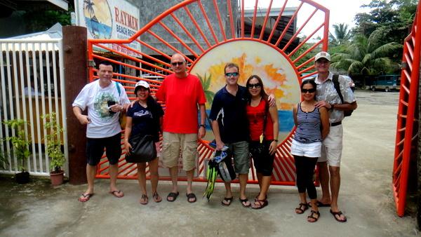 The Raymen Beach Crew in Guimaras