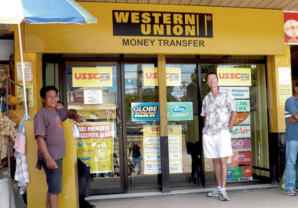 The Tom Cat at Western Union in Guimaras