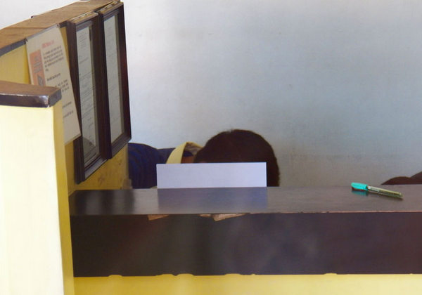Western Union clerk hiding in Guimaras