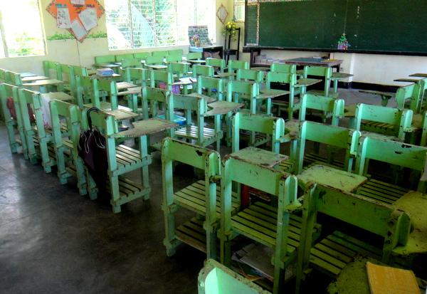 Classroom in Guimaras
