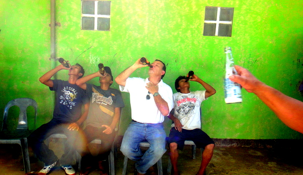 Red Horse chugging contest