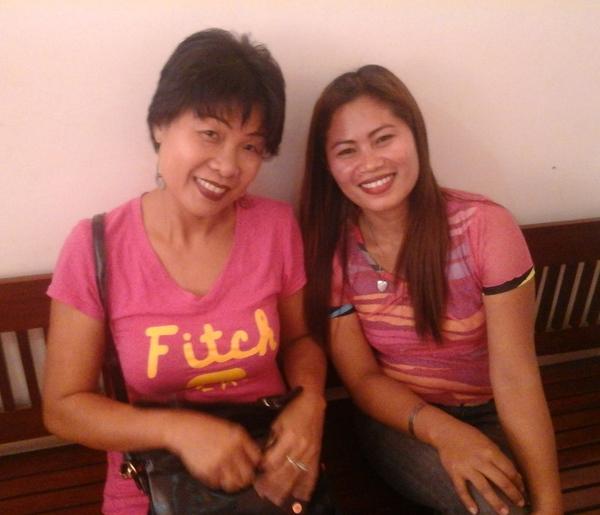 My asawa and Ester