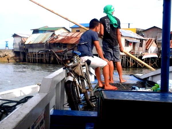 Approaching Ortiz Wharf in Iloilo