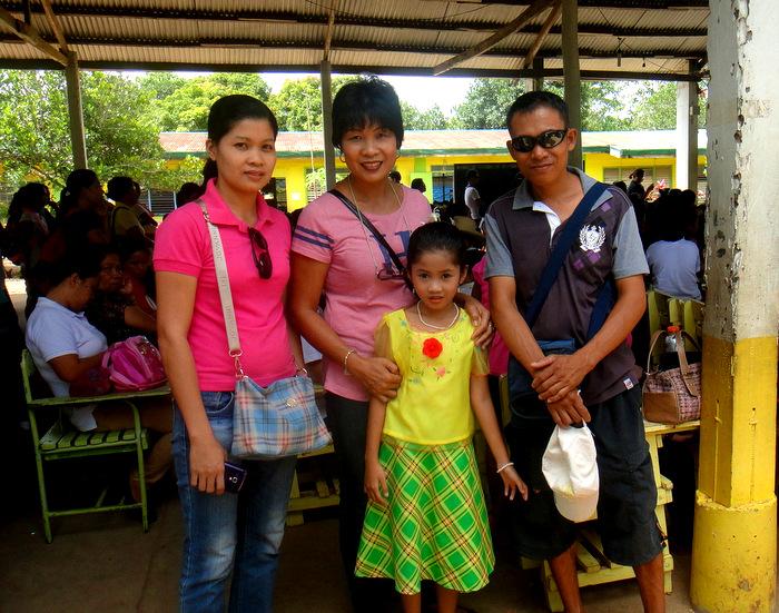 Alida, my asawa, Joery and JalAmiel
