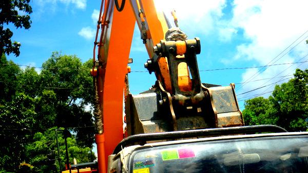 road construction in guimaras