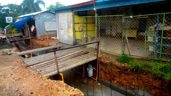 widening the road in guimaras