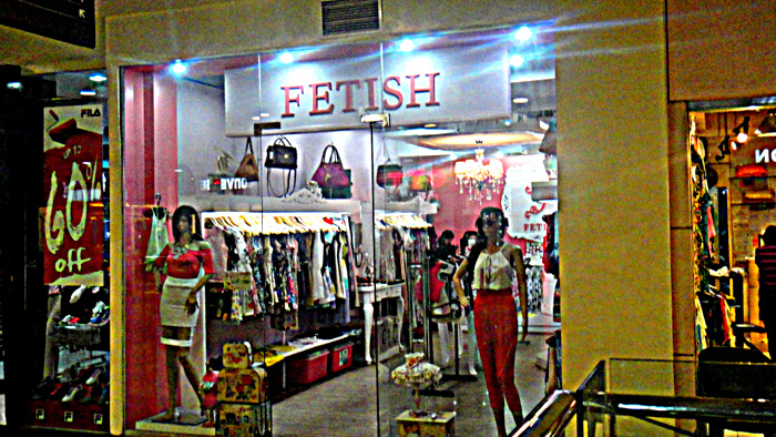fetish at robinsons place in bacolod city