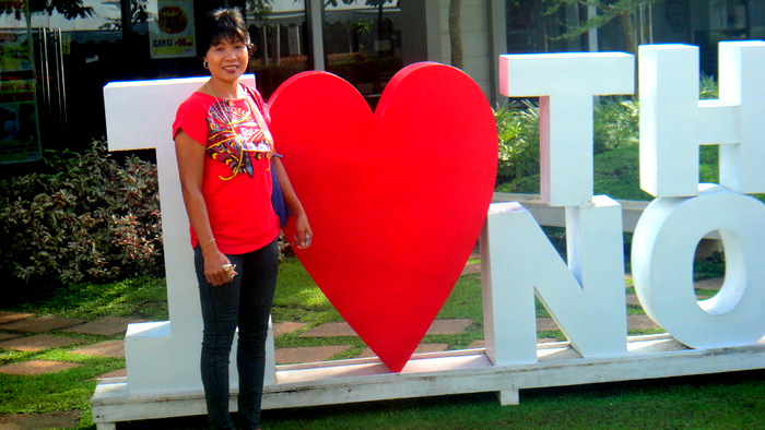 i love the north point outside bacolod city