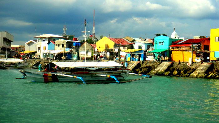 leaving Ortiz Dock in Iloilo City