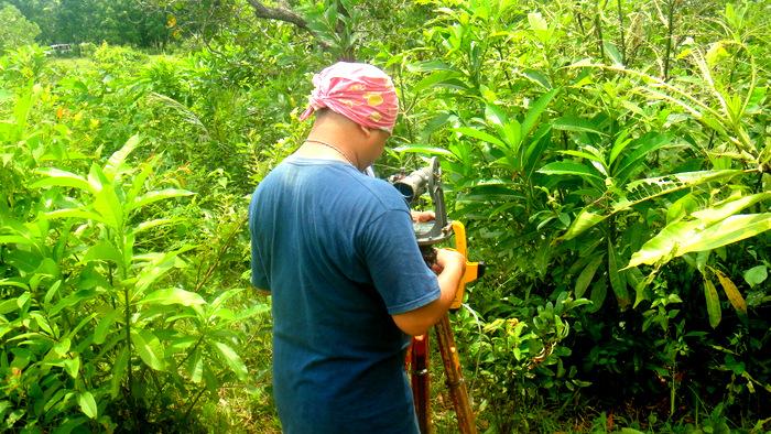 survey crew chief in guimaras