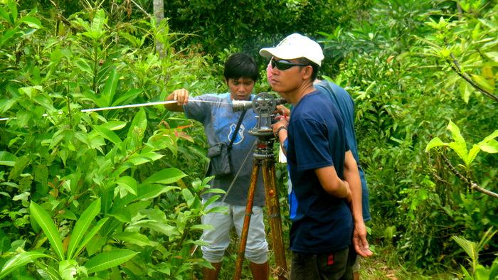 survey crew member and joery