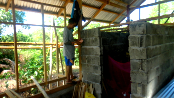 Joery our Nipa Hut foreman