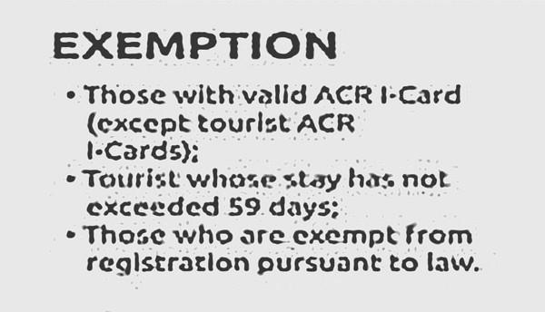 arp exemption
