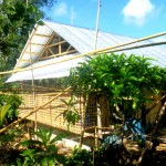 Lolo's Nipa Hut in the Philippines Nears Completion