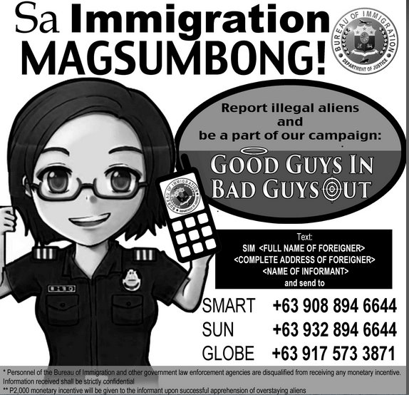 Philippine Bureau of Immigration Crackdown on Foreigners Claiming to Have Filipino Spouses