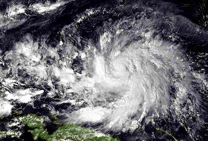 Philippines Typhoon Ruby Gains Strength