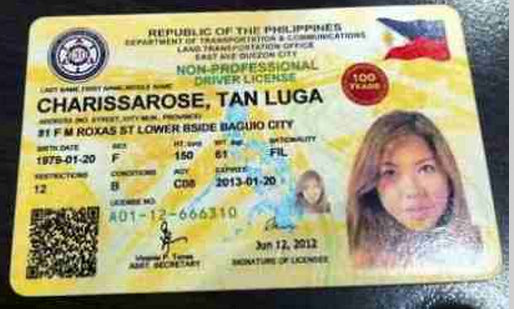 LTO driver's license card issuance