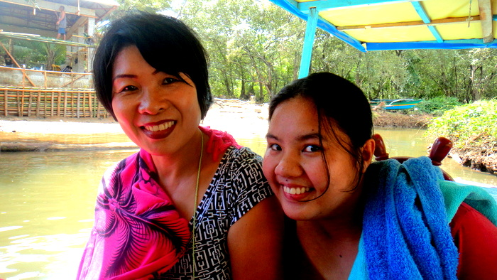 My lovely asawa and our niece Michelle