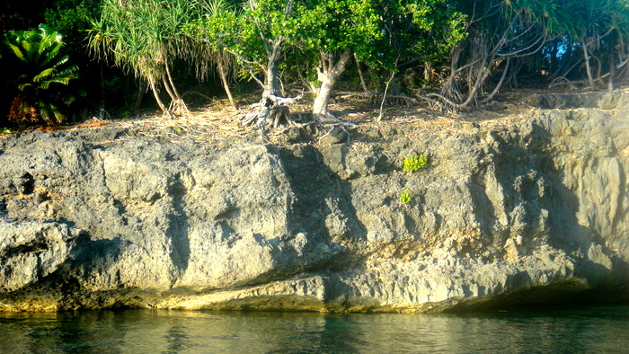 close-up look at one of the guimaras islets