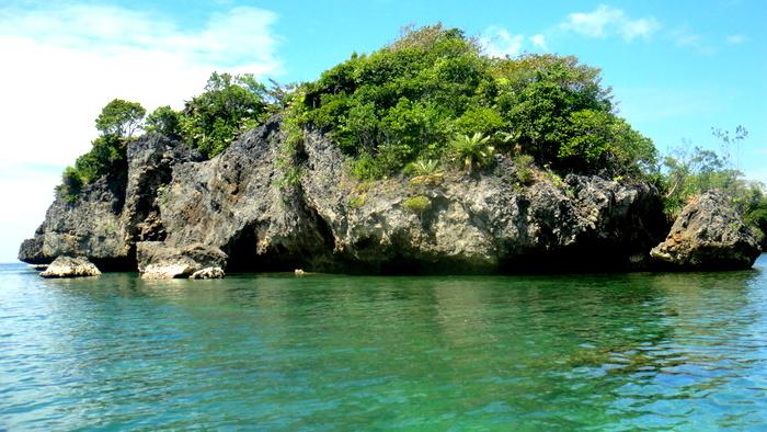 islet near guimaras