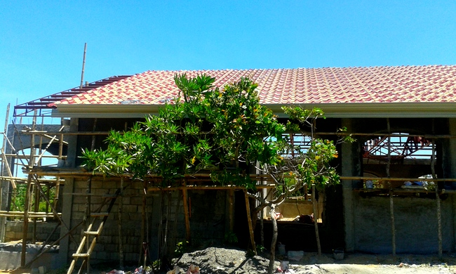 Our New Roof in the Philippines is Halfway Done