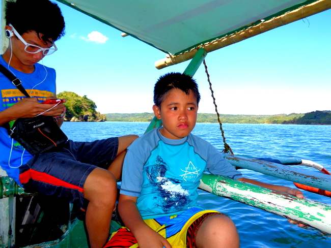 Sherwin and Jorreal, island hoppers