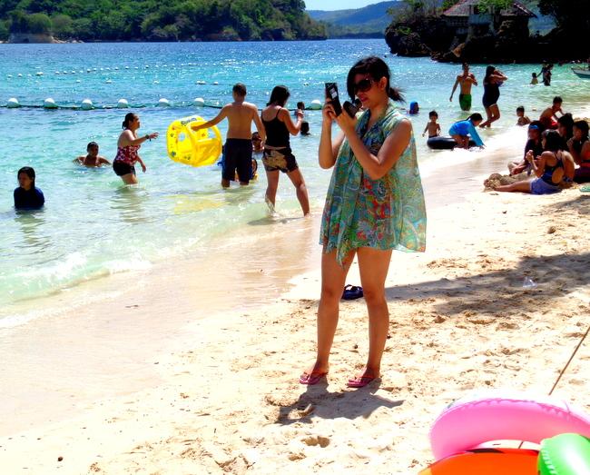 a stunning beauty at Raymen Beach Resort