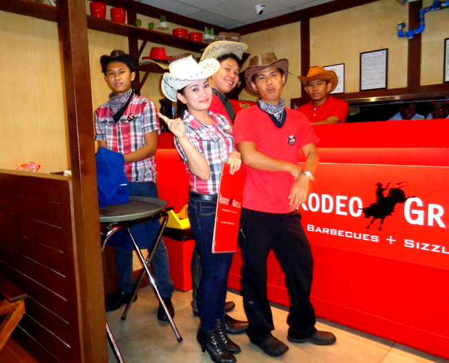 another look at the rodeo grill crew in cebu city