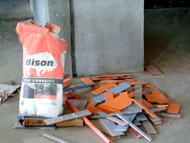 tile adhesive we use in the Philippines