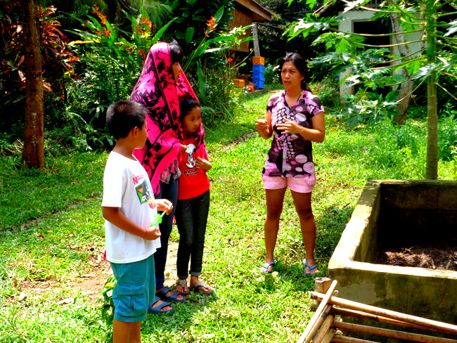 niece, nephew, asawa at wonder farms, guimaras