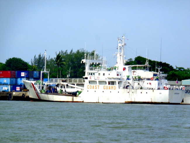 coast guard near iloilo city