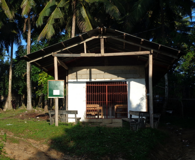 our local church in guimaras, the philippines