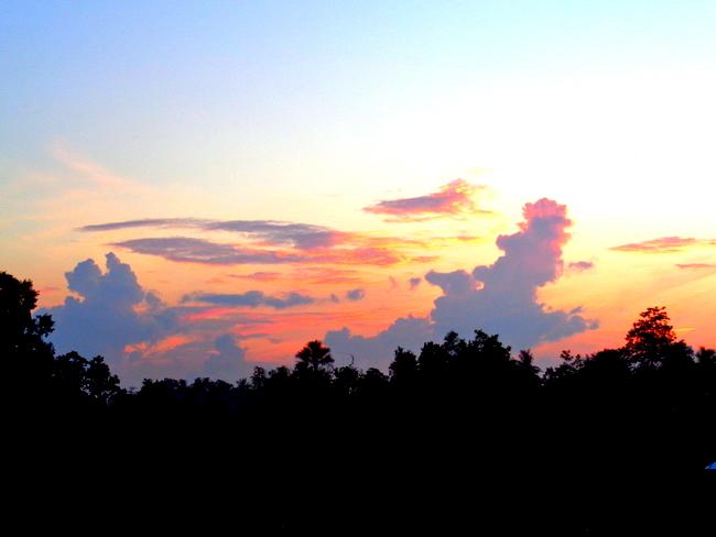 sunrise in the philippines