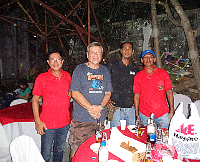 New friends from the Army in Iloilo