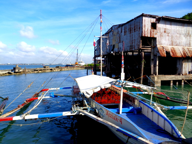 jordan wharf in guimaras philippines