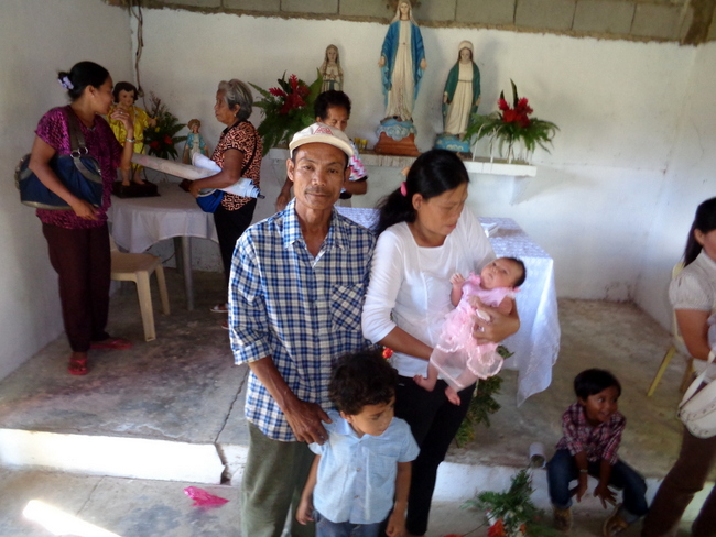 The Christening of Merry Joy in the Philippines