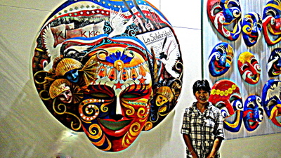 Masskara festival in Bacolod