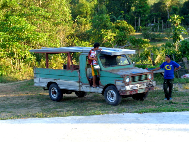 delivering our new terrace roof in guimaras