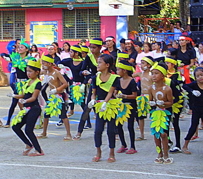 buluangan elementary school fiesta dance