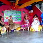 Buluangan Foundation Day Queen Contestants Save Mother Earth
