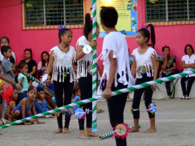 getting ready for the dance competition in guimaras philippines