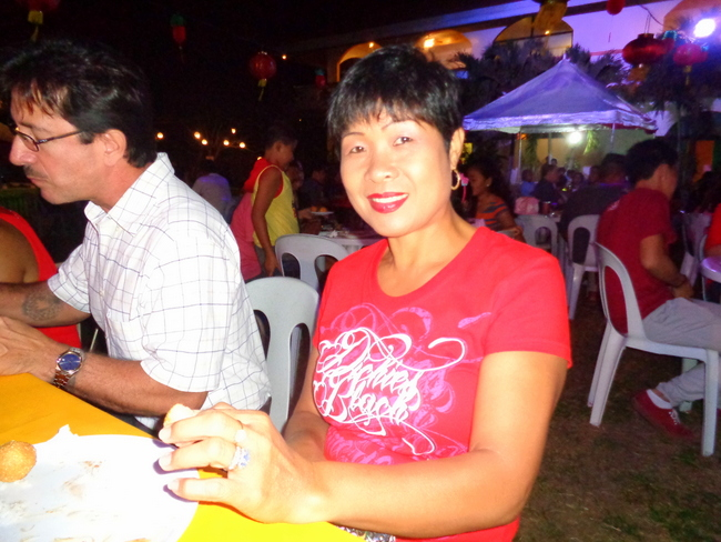 my asawa at mango terrace in guimaras, lunar new year celebration