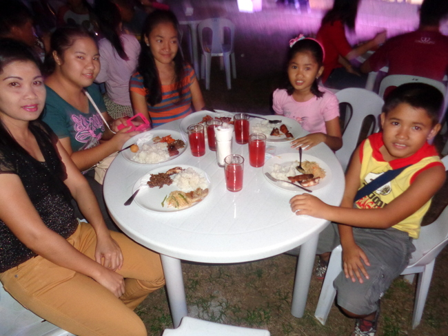 the crew celebrates chinese new year at mango terrace guimaras
