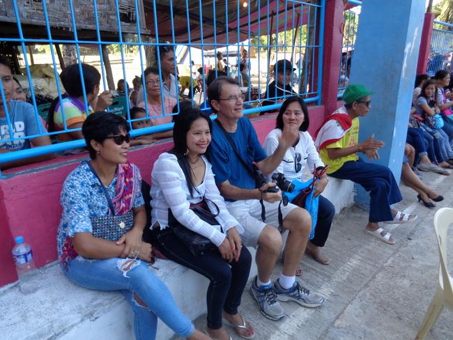 the crew visits the buluangan fiesta in guimaras