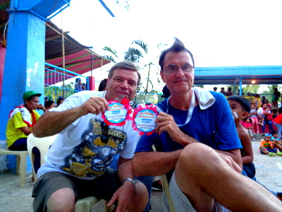 Captain Tom & His Amazing Mohawk Visit a Guimaras Fiesta