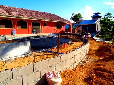 Pool Project Progresses in the Philippines