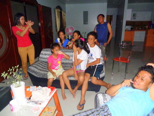 everyone was having fun singing